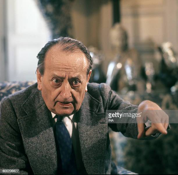 André Malraux interviewed in his place of residence of VerrièresleBuisson