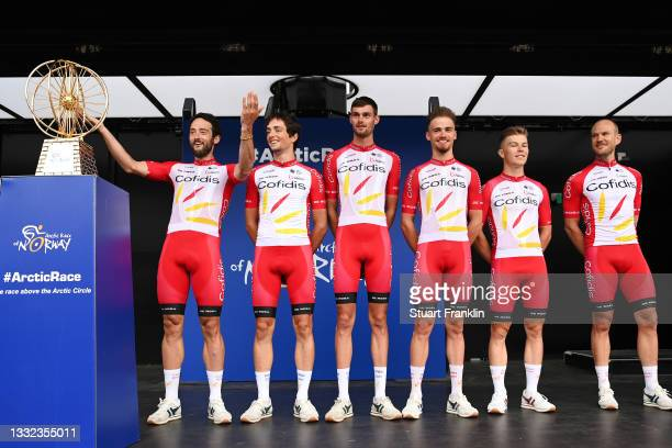 André Rodrigues De Carvalho of Portugal, Thomas Champion of France, Jean Pierre Drucker of Luxembourg, Nathan Haas of Australia, Victor Lafay of...