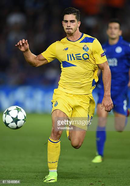 André Silva of FC Porto during the UEFA Champions League match between Leicester City FC and FC Porto at The King Power Stadium on September 27 2016...