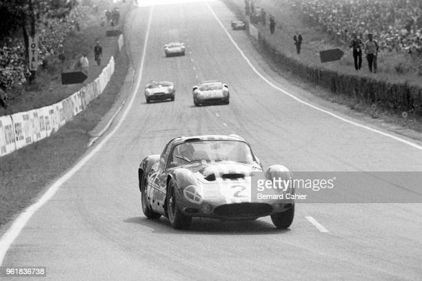 André Simon Maserati Tipo 151/3 24 Hours of Le Mans Le Mans 16 June 1963