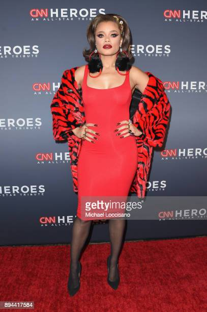 Andra Day attends CNN Heroes 2017 at the American Museum of Natural History on December 17 2017 in New York City 27437_017
