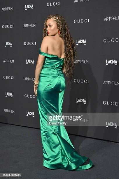 Andra Day attends LACMA Art Film Gala 2018 at Los Angeles County Museum of Art on November 3 2018 in Los Angeles CA