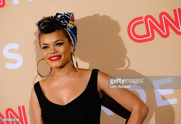 Andra Day attends the 2015 CNN Heroes An AllStar Tribute at American Museum of Natural History on November 17 2015 in New York City