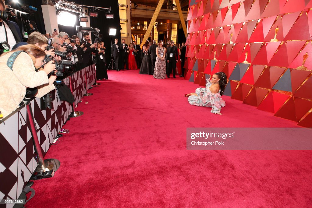 Andra Day attends the 90th Annual Academy Awards at Hollywood & Highland Center on March 4, 2018 in Hollywood, California.