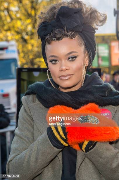 Andra Day attends the 91st Annual Macy's Thanksgiving Day Parade on November 23 2017 in New York City