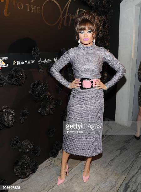 Andra Day attends Toast To The Arts Presented by Remy Martin on March 2 2018 in West Hollywood California