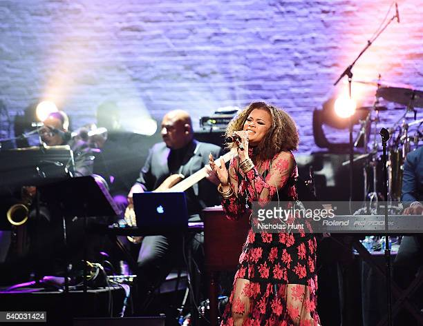 Andra Day performs at the 11th Annual Apollo Theater Spring Gala at The Apollo Theater on June 13 2016 in New York City
