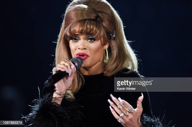 Andra Day performs onstage during the 61st Annual GRAMMY Awards at Staples Center on February 10, 2019 in Los Angeles, California.