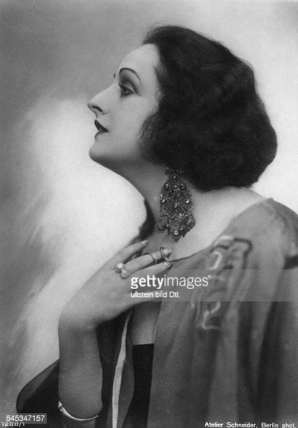 Andra Fern Actress USA *24111894 portrait in profile undated Vintage property of ullstein bild