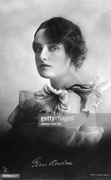 Andra Fern Actress USA *24111894 portrait undated Vintage property of ullstein bild
