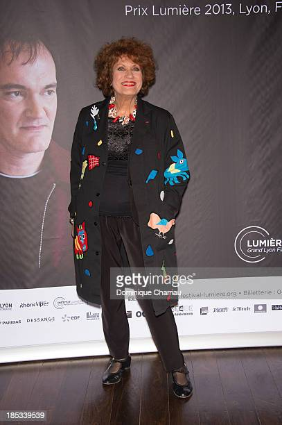 Andréa Ferréolattends the Tribute to Quentin Tarantino during the 'Lumiere 2013 Grand Lyon Film Festival' on October 18 2013 in Lyon France
