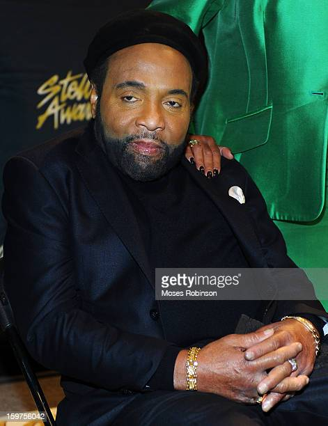 Andrae Crouch attends the 28th Annual Stellar Awards Backstage at Grand Ole Opry House on January 19 2013 in Nashville Tennessee