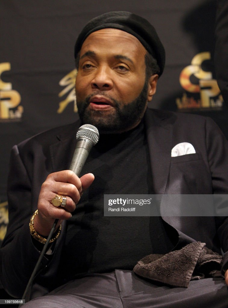 Andrae Crouch attends the 28th Annual Stellar Awards Press Room at Grand Ole Opry House on January 19, 2013 in Nashville, Tennessee.