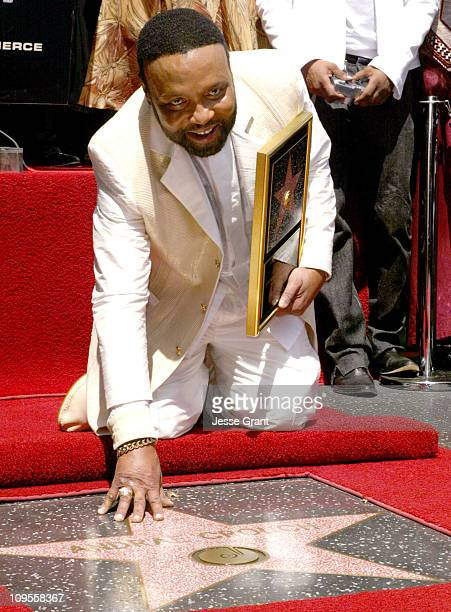 Andrae' Crouch during Gospel Artist Andrae Crouch Honored with a Star on the Hollywood Walk of Fame for His Achievements in Music at 6520 Hollywood...