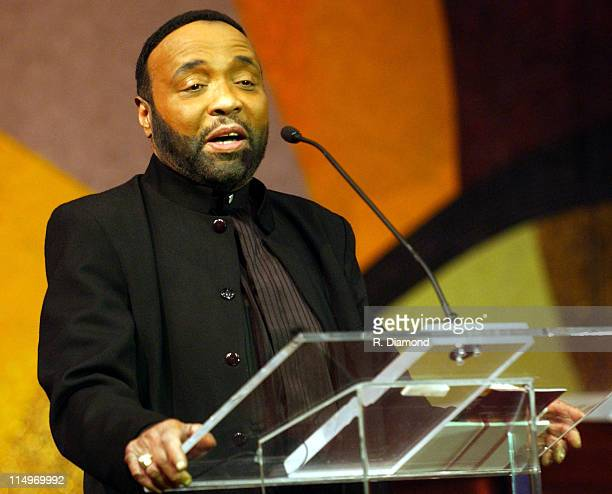 Andrae Crouch during The Recording Academy Presents 2005 GRAMMY Salute to Gospel Music at West Angeles Church in Los Angeles California United States...