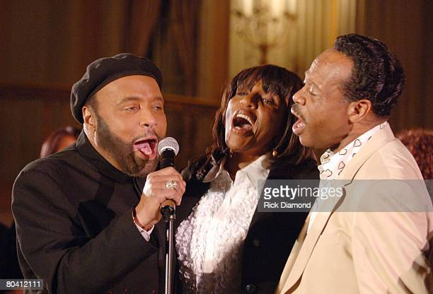 Andrae Crouch Sandra Crouch and Edwin Hawkins