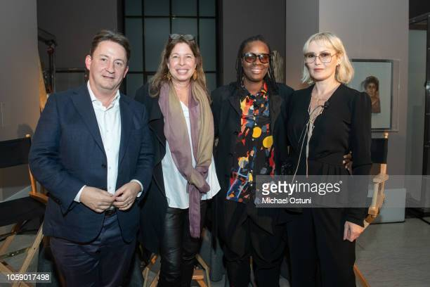 Andras Szanto Anne Pasternak Mickalene Thomas and Tatijana Shoan attend the AS IF Magazine Speaker Series With Audemars Piguet Brooklyn Museum on...