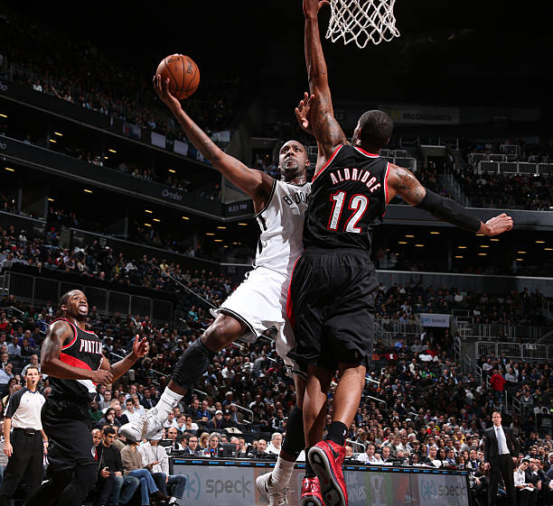 Portland Trail Blazers Center: Portland Trail Blazers V Brooklyn Nets Photos And Images