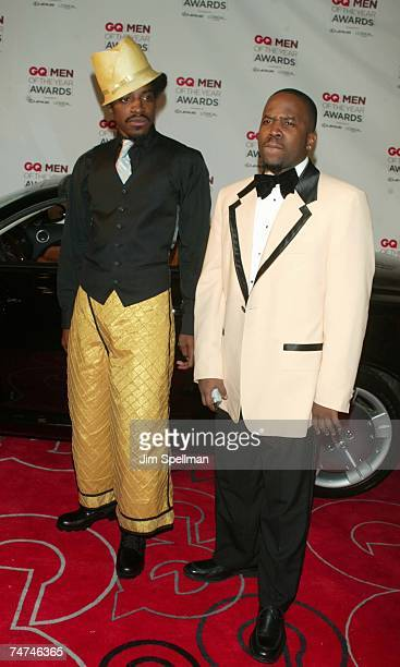 Andre 3000 and Big Boi of OutKast at the Hammerstein Ballroom in New York City New York