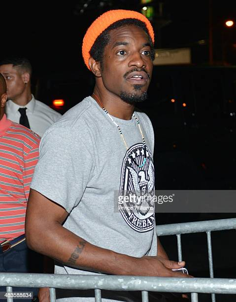 Andre 3000 attends Future Album Release Party at Gold Room on July 30 2015 in Atlanta Georgia
