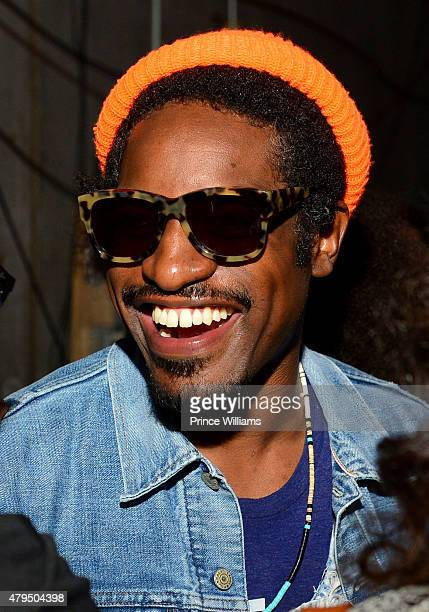 Andre 3000 attends Hot 1079 Birthday Bash Block Show>> at Philips Arena on June 20 2015 in Atlanta Georgia