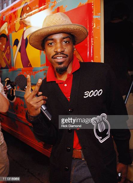 Andre '3000' Benjamin 12591_RD_203JPG during Andre '3000' Benjamin And Cartoon Network Present 'Class of 3000' Premiere Event at The Fox Theater in...