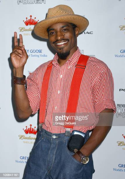 Andre 3000 Benjamin during 2005 Premiere Magazine 'The New Power' Arrivals at Hollywood Roosevelt Hotel in Hollywood California United States