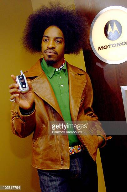 Andre 3000 during 2004 Park City Motorola Lodge at Motorolla House in Park City Utah United States