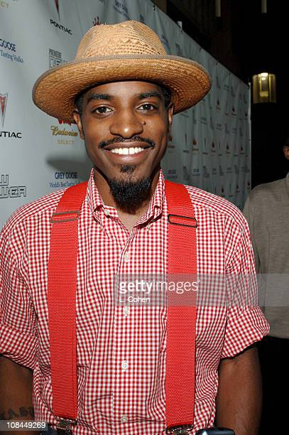 Andre 3000 during 2005 Premiere Magazine 'The New Power' Red Carpet at Hollywood Roosevelt Hotel in Los Angeles California United States
