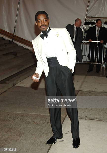 Andre 3000 during Chanel Costume Institute Gala at The Metropolitan Museum of Art Departures at The Metropolitan Museum of Art in New York City New...