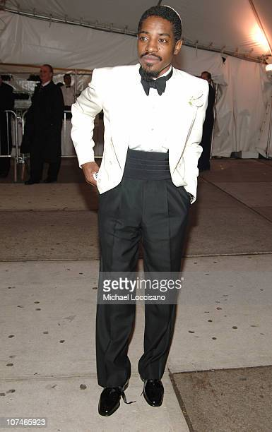 Andre 3000 during Chanel Costume Institute Gala Opening at the Metropolitan Museum of Art Departures at The Metropolitan Museum of Art in New York...