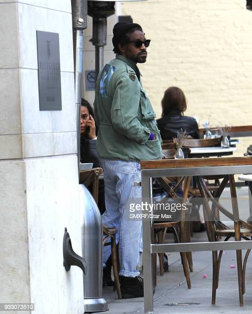 Andre 3000 is seen on March 16 2018 in Los Angeles CA