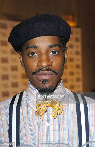 Andre 3000 of Outkast at the Royal Opera House in London United Kingdom