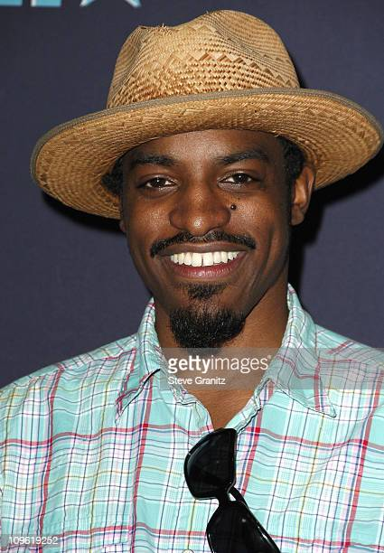 Andre 3000 of OutKast during 6th Annual BET Awards Press Room at Shrine Auditorium in Los Angeles CA United States