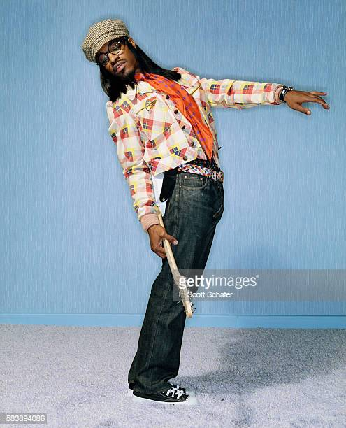 Andre 3000 of Outkast is photographed for Blender Magazine in 2004