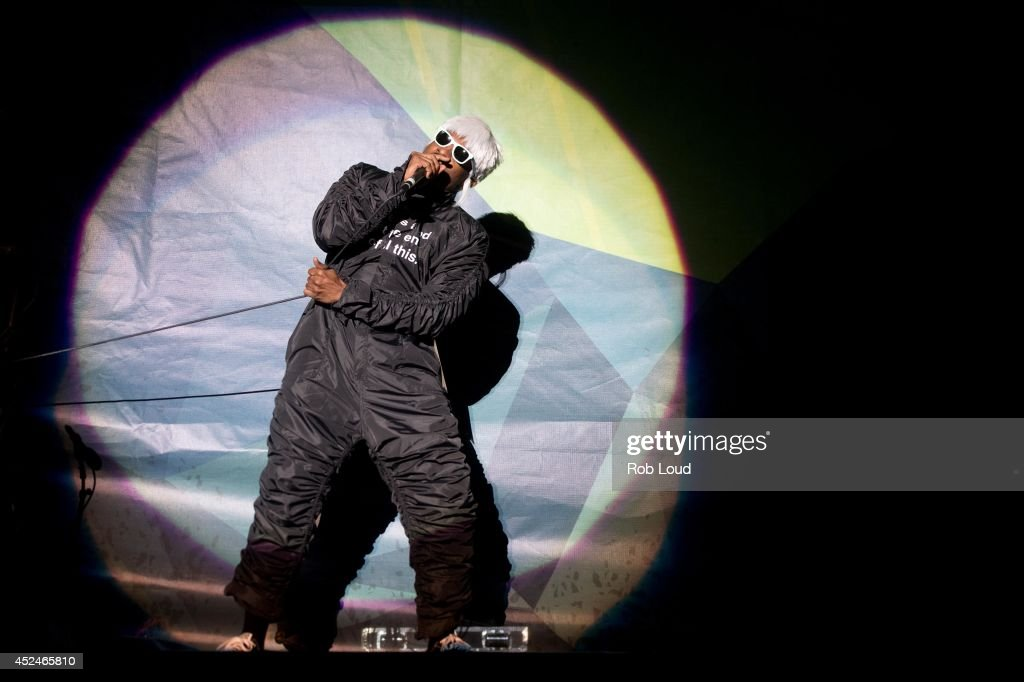 Andre 3000 of Outkast performs at Pemberton Music Festival on July 20, 2014 in Pemberton, Canada.