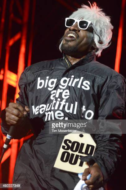 Andre 3000 of Outkast performs during the 2014 Hangout Music Festival at Hangout Beach on May 18 2014 in Gulf Shores Alabama