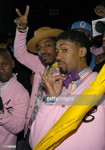 Andre 3000 of OutKast Winner of the Roc the Mic Award and Fonzworth Bentley