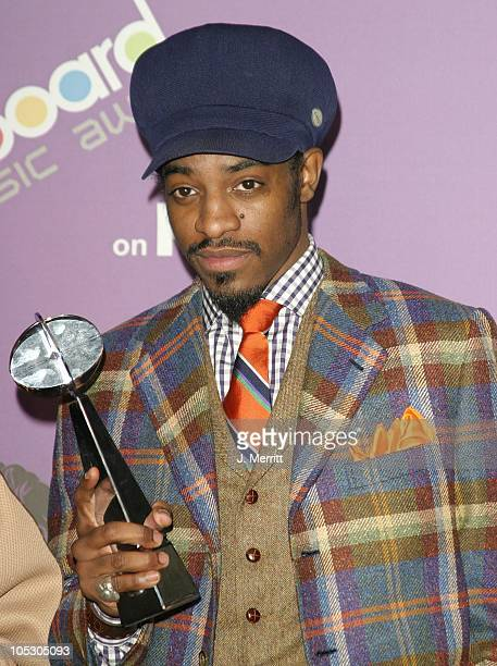 Andre 3000 of Outkast with the award for Digital Track of the Year