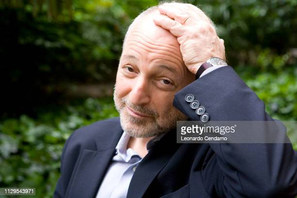 Andre Aciman American writer and Proust scholar portrait Varese Italy 16th May 2009