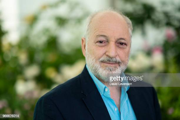 Andre Aciman author of 'Call Me By Your Name' at the Hay Festival on June 3 2018 in HayonWye Wales