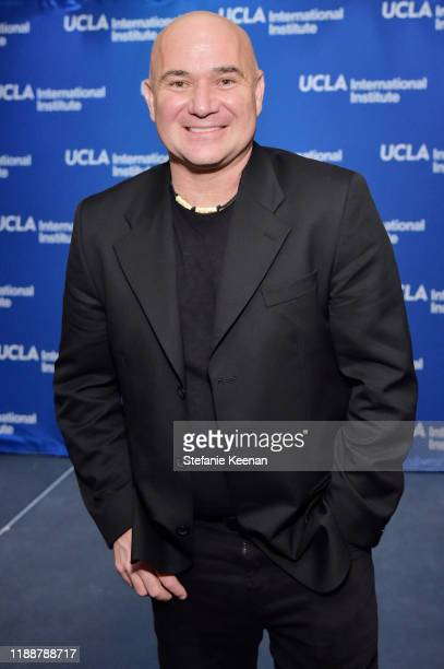 Andre Agassi attends The Promise Armenian Institute Event At UCLA at Royce Hall on November 19 2019 in Los Angeles California