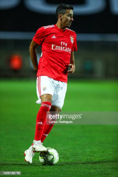 Andre Almeida from SL Benfica during the match between SL Benfica v Lyon for the International Champions Cup Eusebio Cup 2018 at Estadio do Algarve...