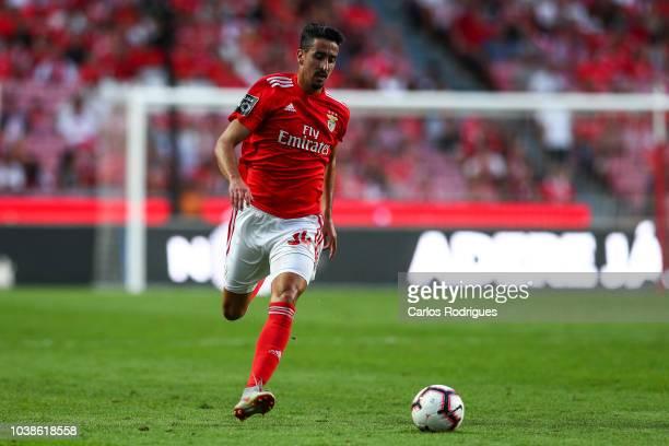 Andre Almeida of SL Benfica during the Liga NOS match between SL Benfica and CD Aves at Estadio da Luz on September 23 2018 in Lisbon Portugal