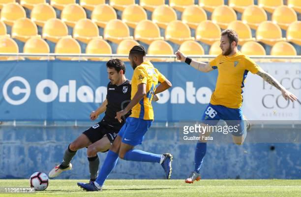 Andre Almeida of Vitoria SC B in action during the Ledman Liga Pro match between GD Estoril Praia and Vitoria SC B at Estadio Antonio Coimbra da Mota...