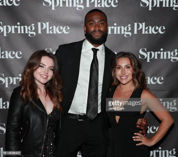 André attends Spring Place's Oscars party honoring Andra Day and the cast of The United States vs. Billie Holiday on April 25, 2021 in Beverly...