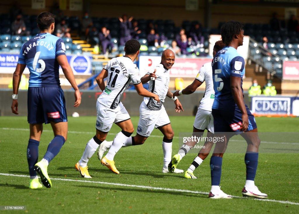 Wycombe Wanderers v Swansea City - Sky Bet Championship : ニュース写真