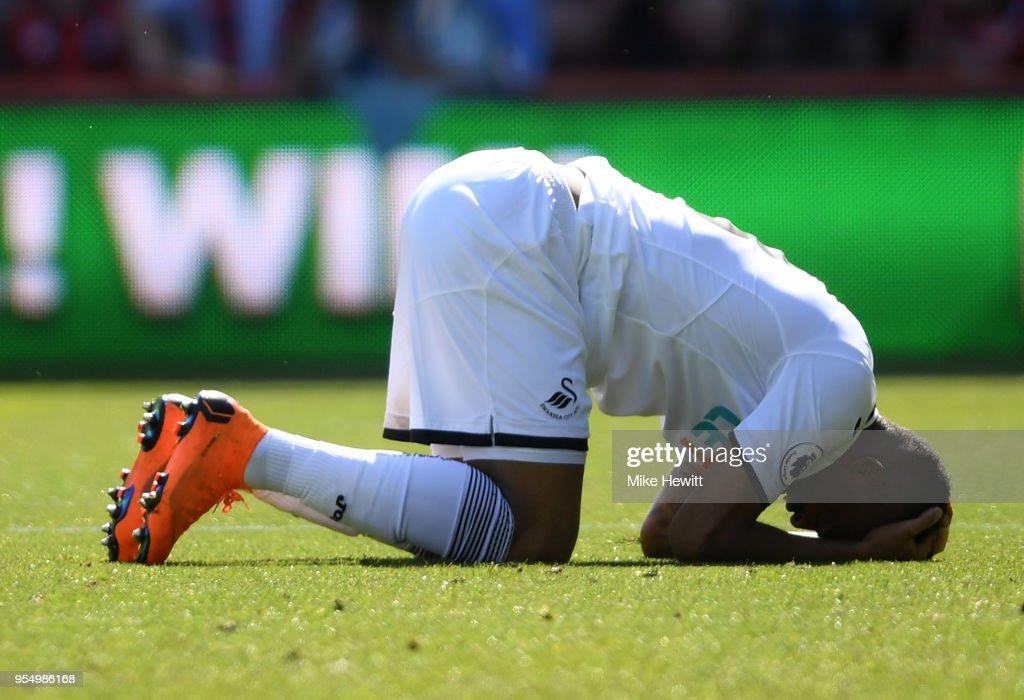 AFC Bournemouth v Swansea City - Premier League : Fotografía de noticias
