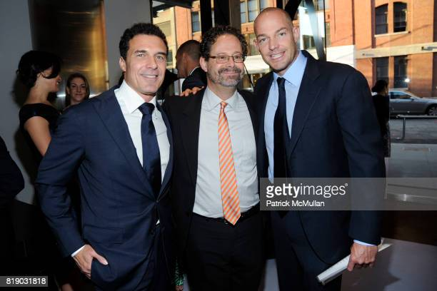 Andre Balazs Adam Weinberg and Alex von Furstenberg attend Whitney Museum American Art Awards Gala at DVF Studios 820 Washington St on May 6 2010 in...