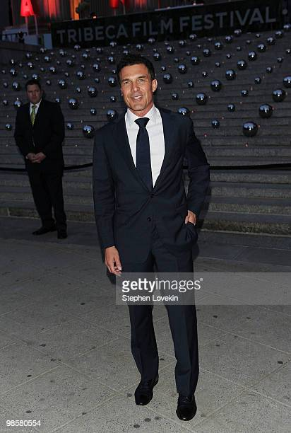 Andre Balazs attends the Vanity Fair party before the 2010 Tribeca Film Festival at the New York State Supreme Court on April 20 2010 in New York City